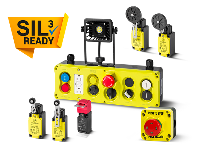 News safety products SIL3 ready